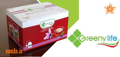 چای های ترکیبی شرکت گرینی لایف