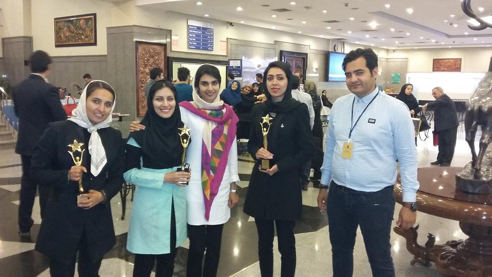 برگزیدگان همایش کارآفرینان موفق کشور از شرکت نیوشا