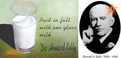 پرداخت همه مخارج با یک لیوان شیر