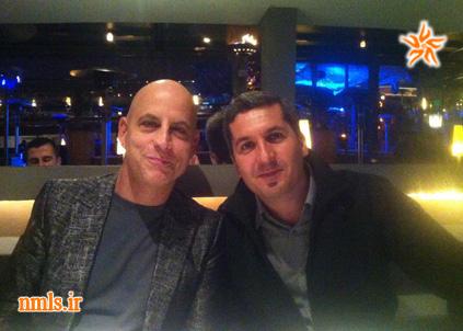 دکتر هادی خضرزاده و استاد رندی گیج
