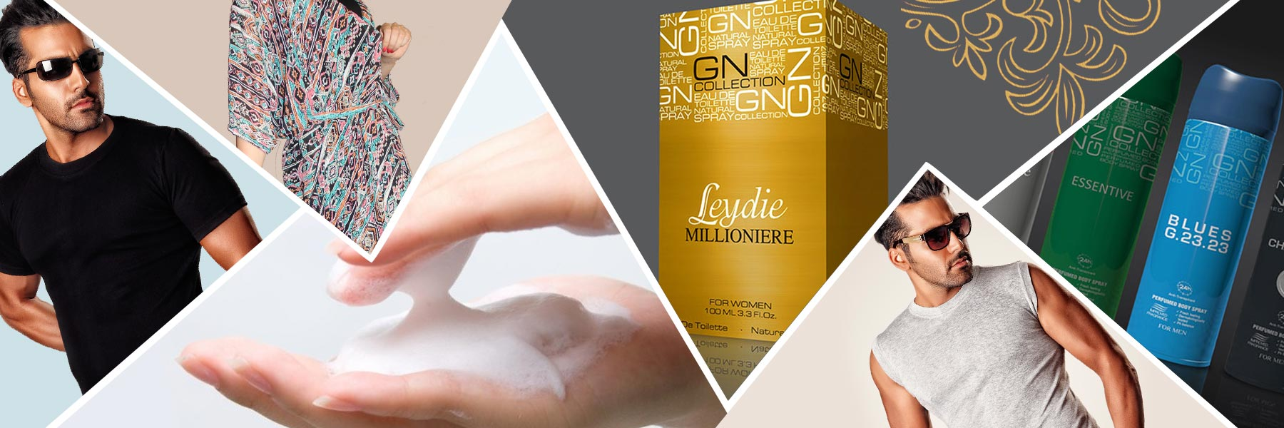 محصولات آرایشی و بهداشتی شرکت رادین