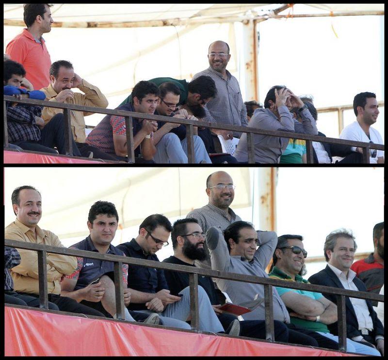 بازی باشگاه فوتبال شرکت بادران در جام حذفی