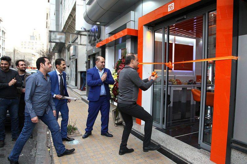 افتتاح شعبه جدید فست فود دکتر بی در تهران